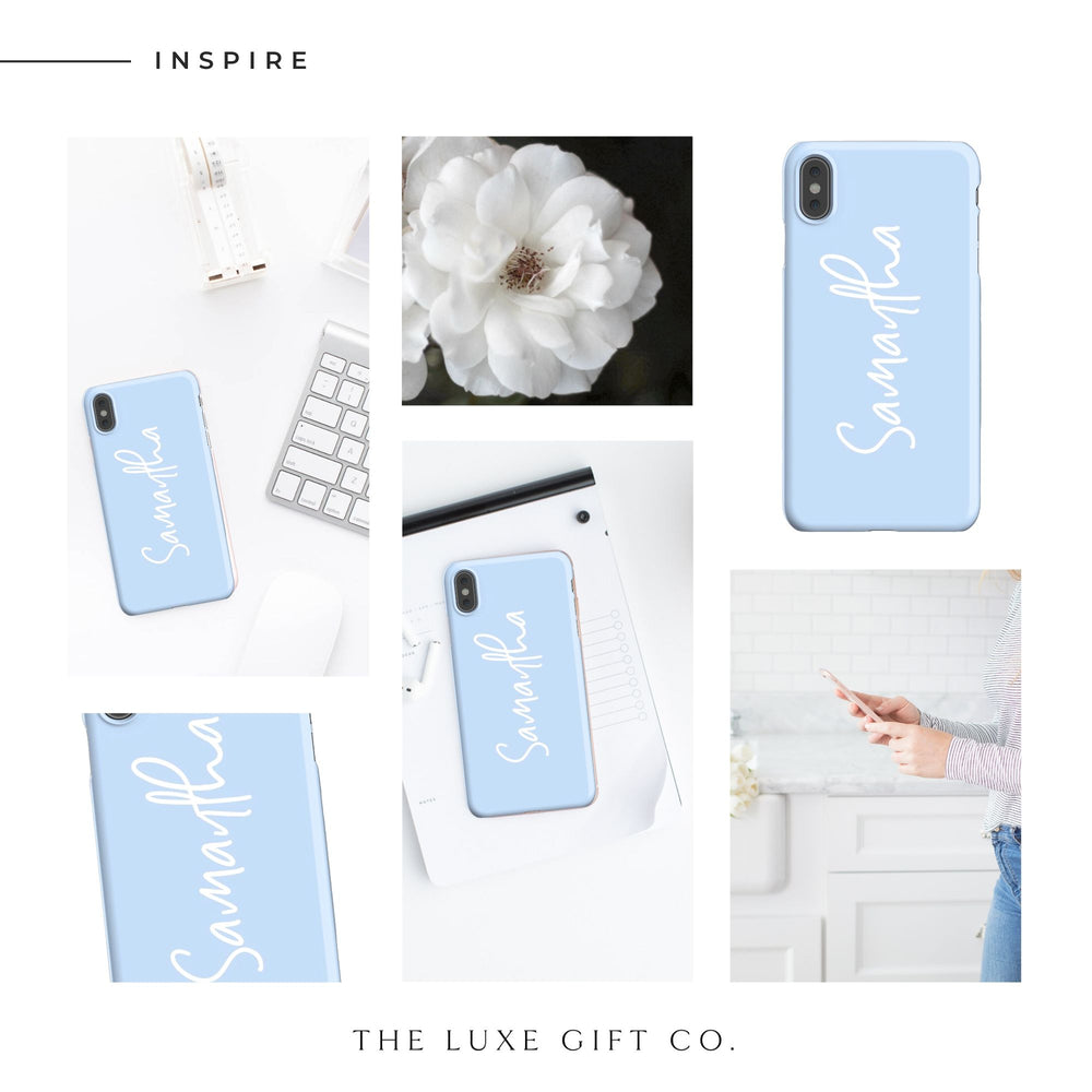 iPhone Case | Just Blue - The Luxe Gift Co.