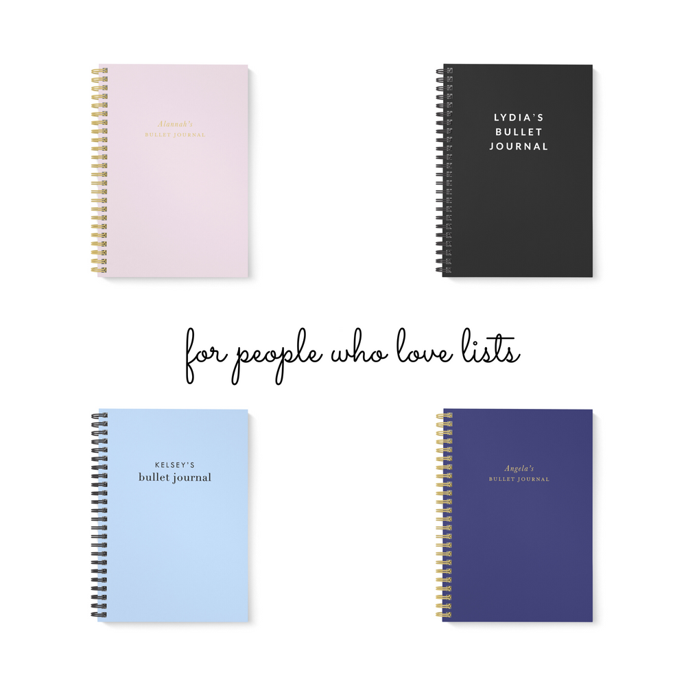Bullet Journal A5 Notebook | Classic in Mauve - The Luxe Gift Co.