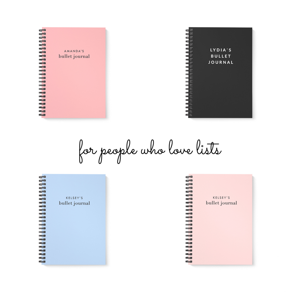 Bullet Journal A5 Notebook | Blush - The Luxe Gift Co.