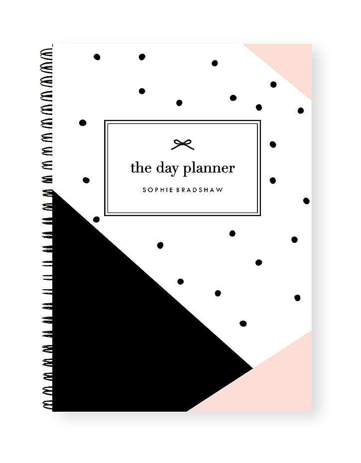 Daily Planner Notebook | Diagonal Days - The Luxe Gift Co.