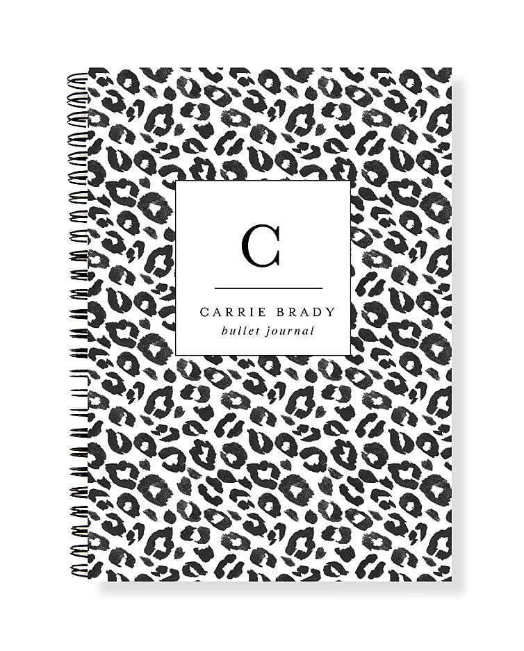 Bullet Journal A5 Notebook | A Little More Leopard - The Luxe Gift Co.