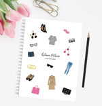 Personalised A5 notebook | Fabulous Fashion - The Luxe Gift Co.