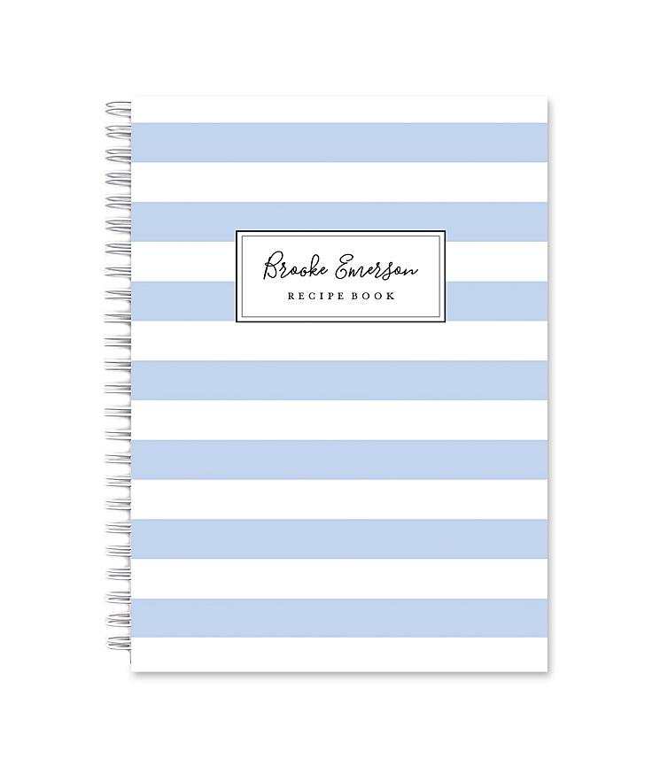 Blank Recipe Book | Stripes 4 Ever