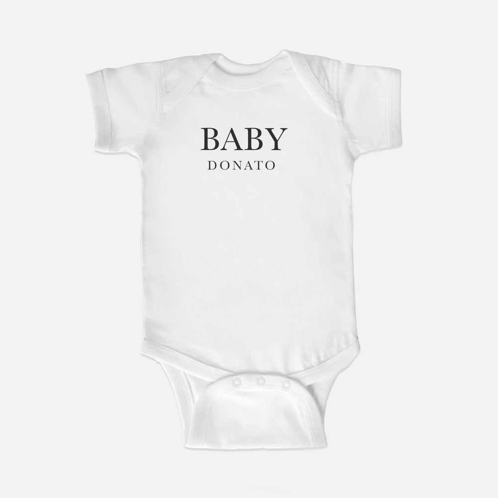 Pregnancy Announcement Onesie | White Luxe