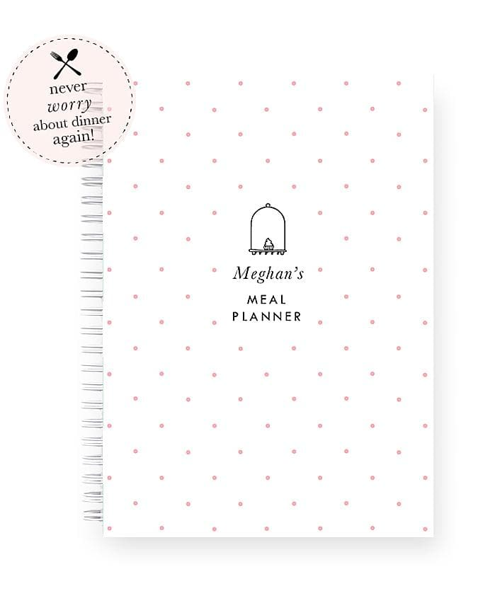 Personalised Meal Planner | Sweet Cakes