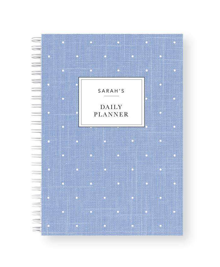 Daily Planner Notebook | Chambray Love - The Luxe Gift Co.