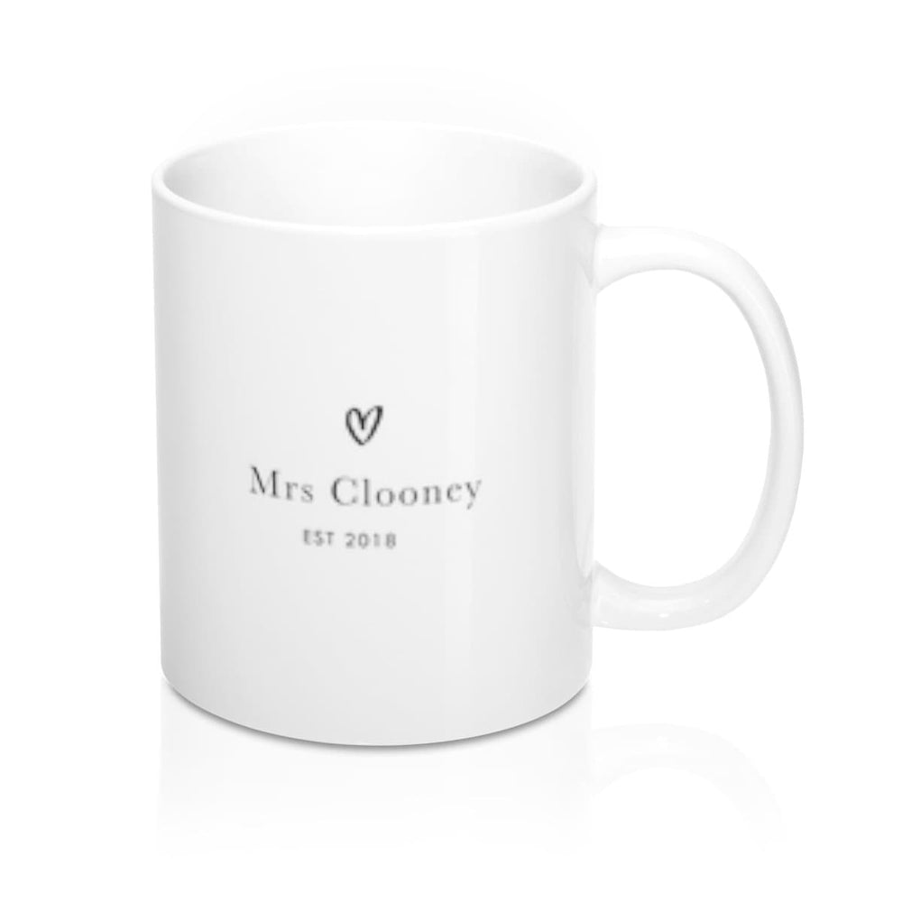 "Personalised Mug | The ""Mrs"" Club"