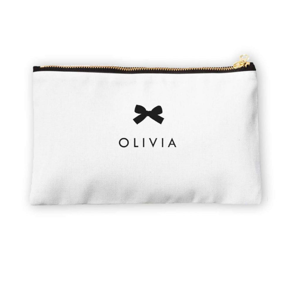 Personalised Makeup Bag - Black Tie Event