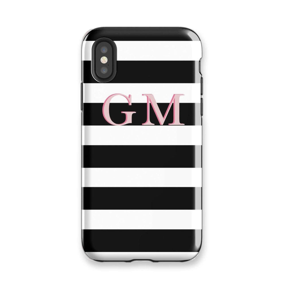 Personalised Phone Case | Statement Stripe