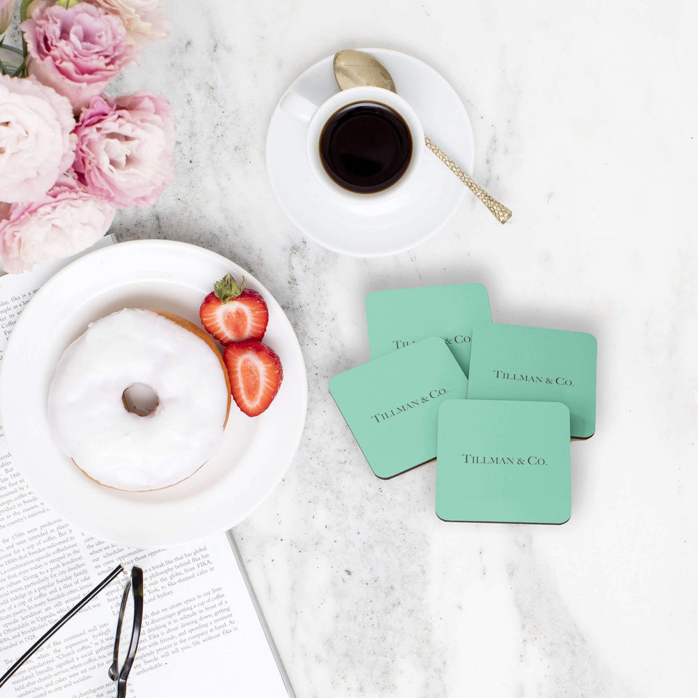 Drink Coasters Personalised | 5th Avenue - The Luxe Gift Co.