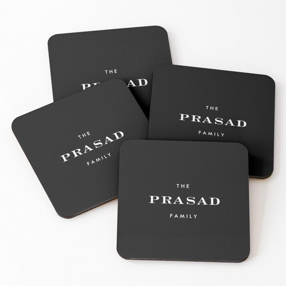 Drink Coasters Personalised | The Devil Wears...