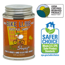 Eco Sheep ELECTRIC SHEEP – Awesome  Sheep Oil Based, Eco-friendly Bike Chain Lube for E-Bikes - No Petroleum - EPA Safer Choice and USDA BioPreferred Approved Chain Lube.