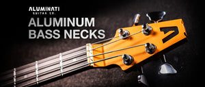 Announcing the Andromeda Aluminum Bass Guitar Neck