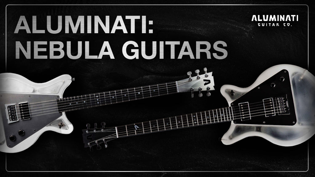 Nebula Guitars: Aluminum Guitar Necks on Lucite Bodies