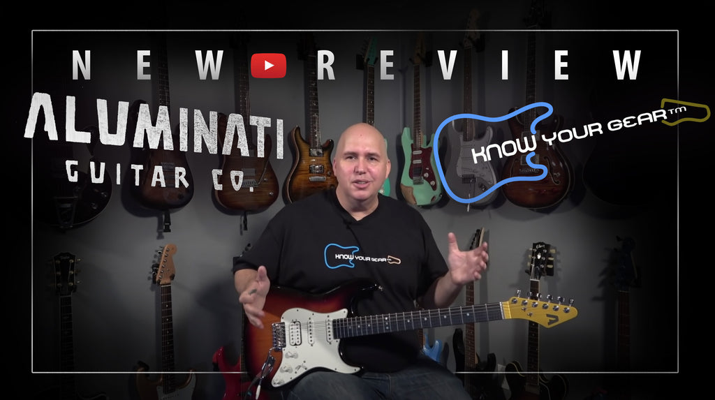 New Video by Phil McKnight of Know Your Gear: I Put An Aluminum Neck On A Fender Strat