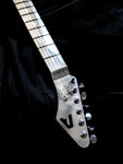 Polished Aurora Aluminum Guitar Neck