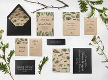 13. Laurel Garland Bohemian Garden Wedding Invitation