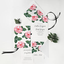 18. Artfullly Blush Petals Invitation