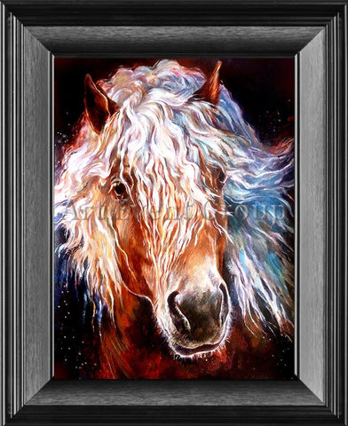 HORSE in Framed Canvas Art at www.all-art4sale.us. $46.00
