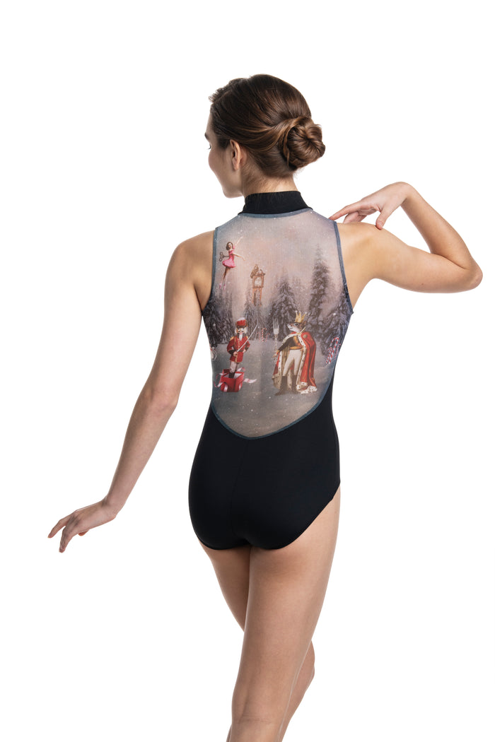 Ainsliewear Girls Zip Front with Nutcracker Print *Limited Edition