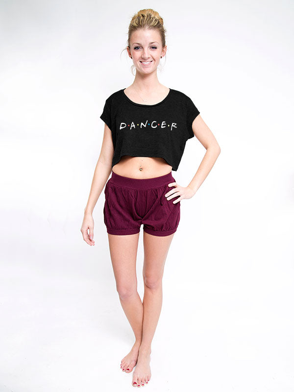 Friends Dancer Crop Tee