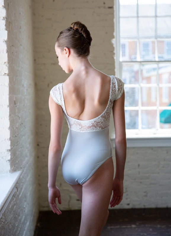 Class In Lace Bodice Leotard