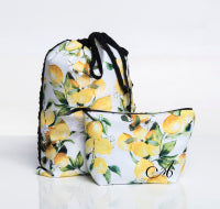 Ainsliewear Make-Up Bag in Limoncello