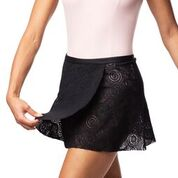 Ainsliewear Wrap Skirt in Lola Lace