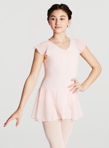 Capezio Flutter Sleeve Dress