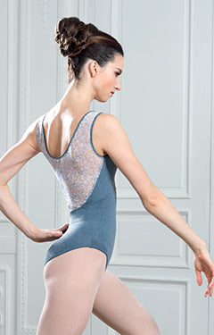 Grishko Lace and Swirls Leotard