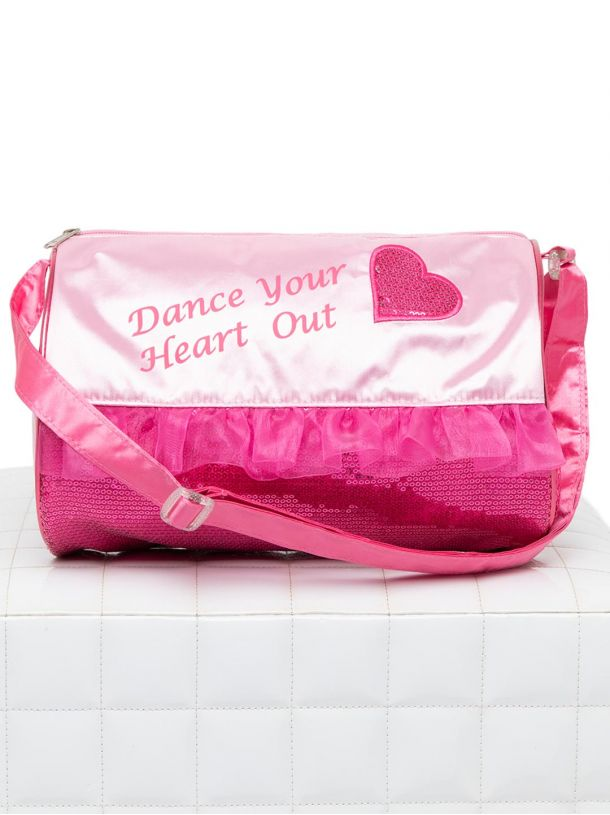 Capezio Heart Barrel Bag