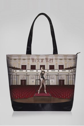 Wear Moi Printed Tote