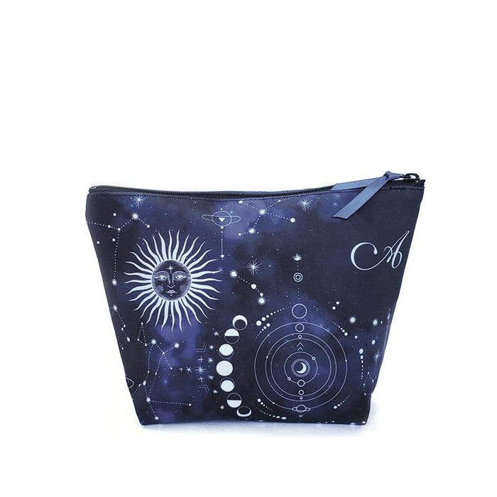 Ainsliewear Make Up Bag in Night Sky Print