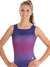 GK Elite Ombre Chic Workout Leotard