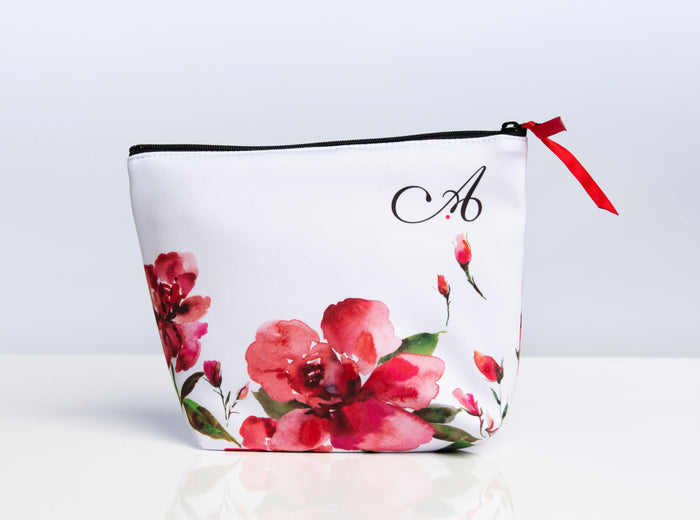 Ainsliewear Makeup Bag in Rosebud Print