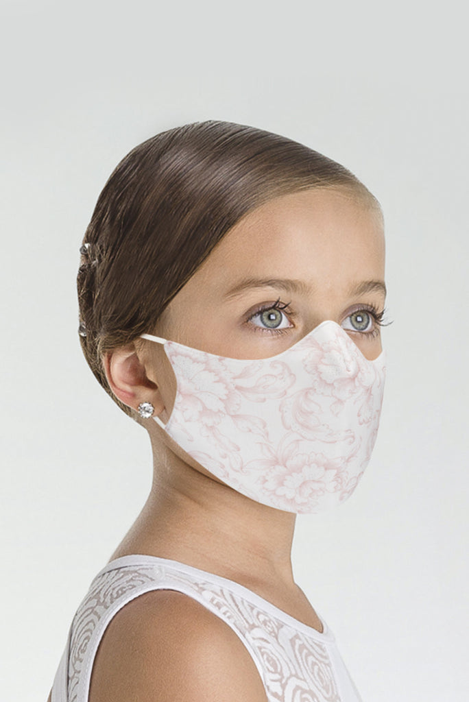 Wear Moi Microfibre and Cotton Face Mask Floral - Youth and Ladies