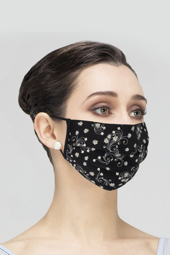 Wear Moi Microfibre and Cotton Mask - Ladies