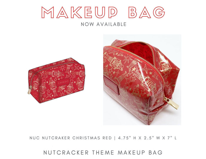 Capezio Holiday Makeup Bag - Limited Edition!