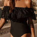 Millie Off The Shoulder Swimsuit - Original | - TribeLuxe
