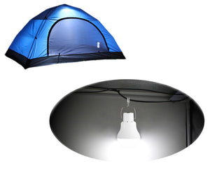 Portable Solar Powered LED Camping Light