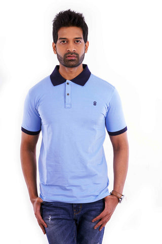 Ice Blue Polo