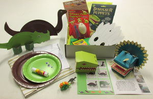 Dinosaurs Crafty Things Club box