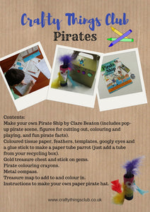 Pirates Crafty Things Club