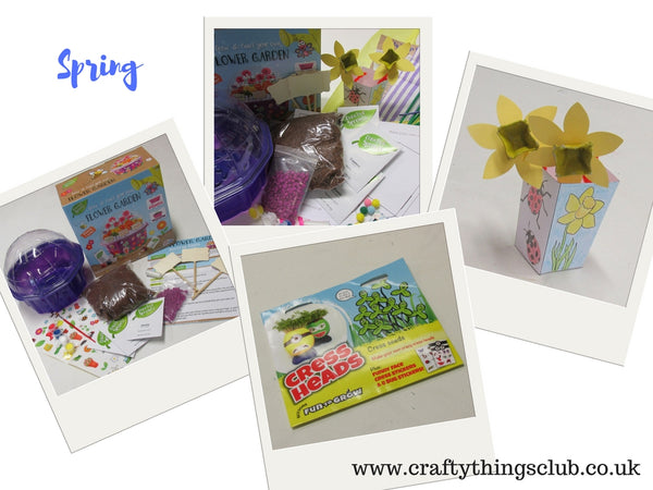 Spring Crafty Things Club box