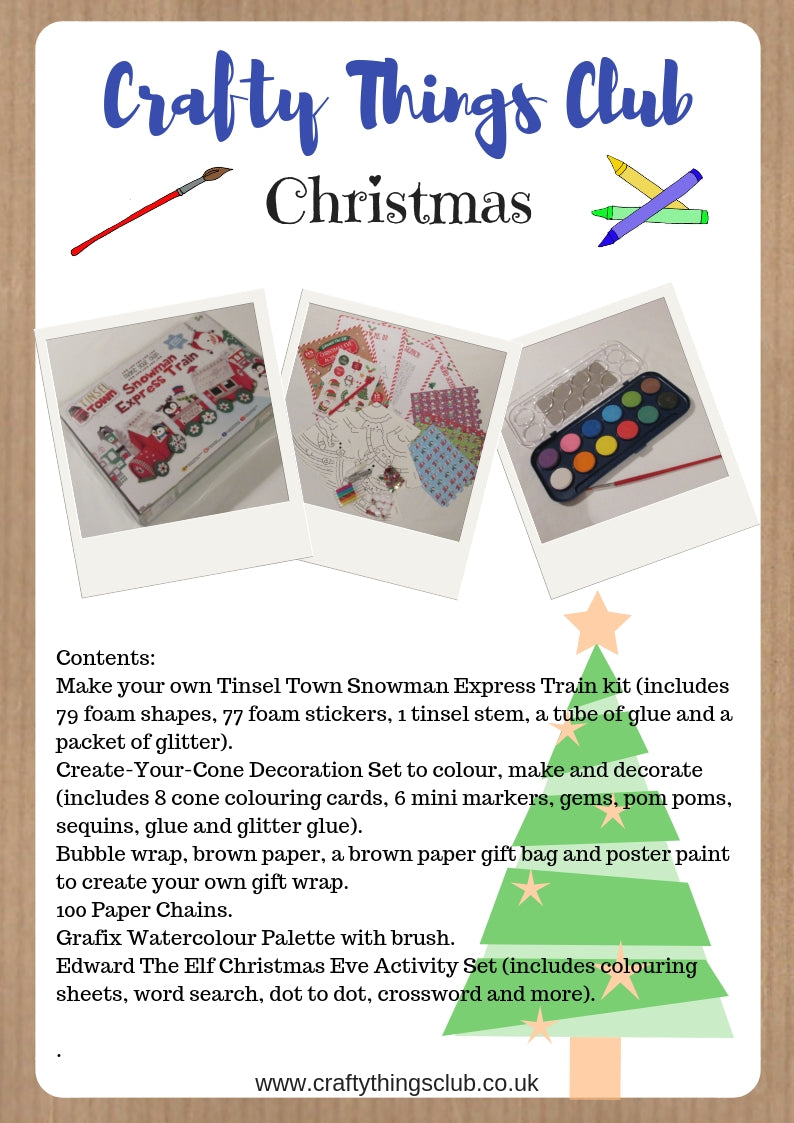 Christmas Crafty Things Club