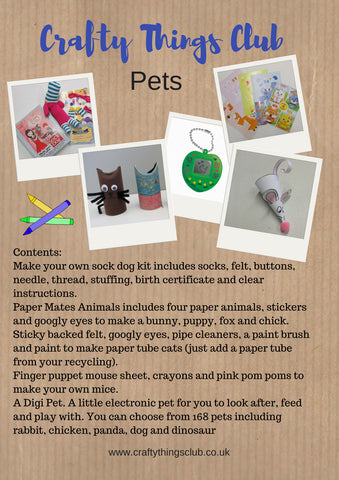 Pets Crafty Things Club