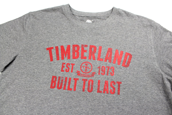 Grey Timberland t shirt L