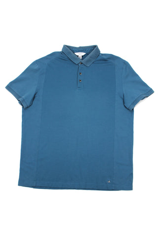 Blue Calvin Klein polo shirt L