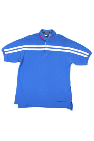 90s Tommy Hilfiger spellout polo shirt M