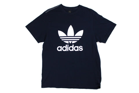 Early 2000s Adidas spellout t shirt M